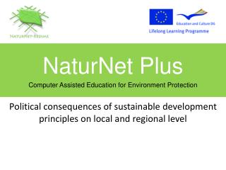 Political consequences of sustainable development  principles on local and regional level