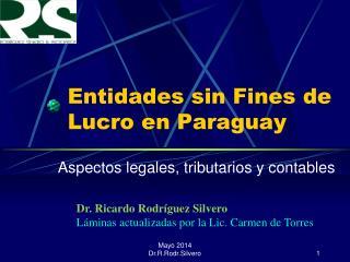 Entidades sin Fines de Lucro en Paraguay