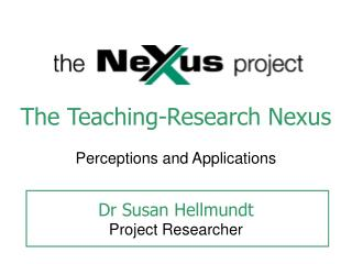 The Teaching-Research Nexus