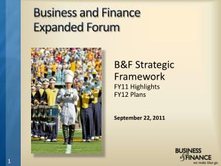 Business and Finance  Expanded Forum
