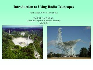 Introduction to Using Radio Telescopes