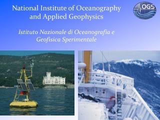 National Institute of Oceanography and Applied Geophysics