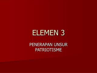 ELEMEN 3