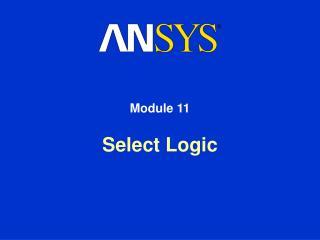 Select Logic