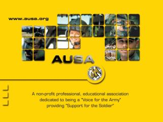 AUSA and  your Local Chapter
