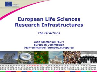 Importance of Research Infrastructures for Europe