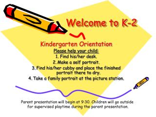 Welcome to K-2