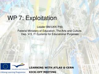 WP 7: Exploitation