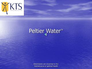 Peltier Water TM