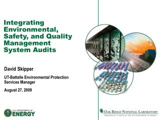 Integrating Environmental, Safety, and Quality Management System Audits