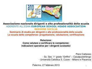 Associazione nazionale dirigenti e alte professionalità della scuola
