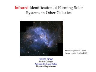 Infrared  Identification of Forming Solar Systems in Other Galaxies