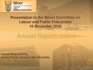 Annual Report:  2009/10
