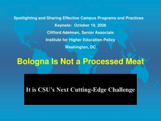 Bologna Is Not a Processed Meat