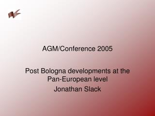 AGM/Conference 2005