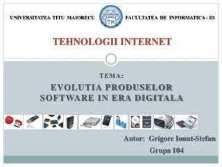tehnologii internet