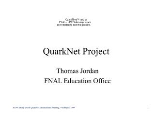 QuarkNet Project