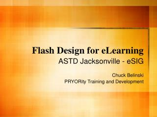 Flash Design for eLearning