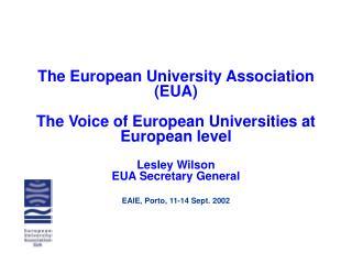 The  story  of  E UA