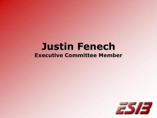 Justin Fenech Executive Committee Member