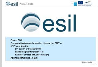 ESIL Abstimmung- 12.09.2008  
