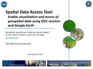 Spatial Data Access Tool: