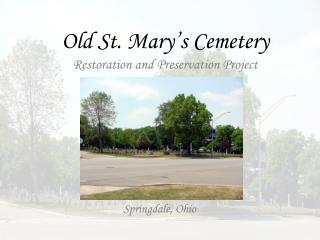 Old St. Mary�s Cemetery