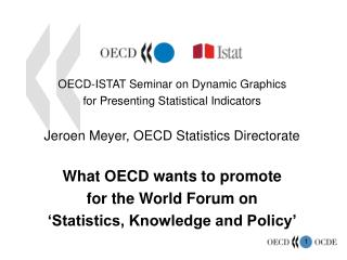 OECD-ISTAT Seminar on Dynamic Graphics  for Presenting Statistical Indicators