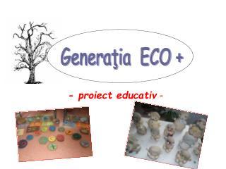 - proiect educativ  -