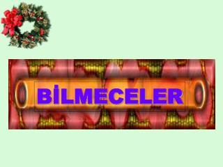 B?LMECELER
