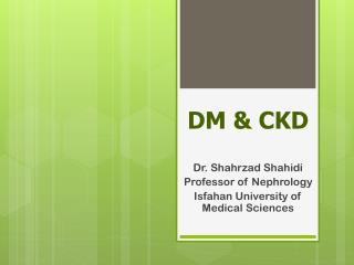 DM & CKD
