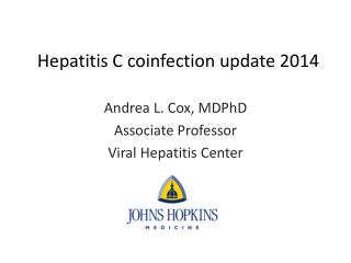 Hepatitis C  coinfection  update 2014