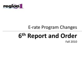 E-rate Program Changes