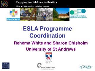 ESLA Programme Coordination
