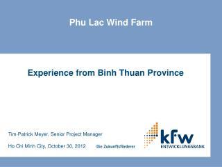 Phu Lac Wind Farm