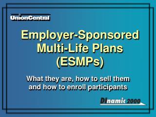 Employer-Sponsored  Multi-Life Plans (ESMPs)