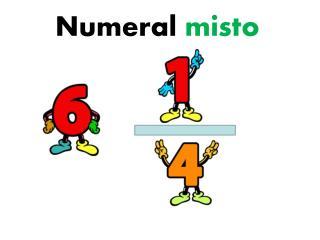 Numeral  misto