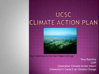 UCSC  Climate Action plan