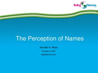 The Perception of Names