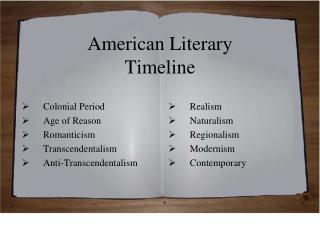 essay on early american literature