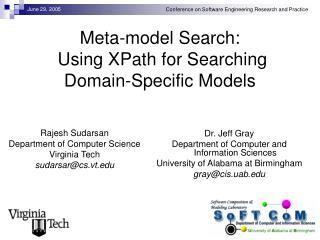Meta-model Search:  Using XPath for Searching Domain-Specific Models