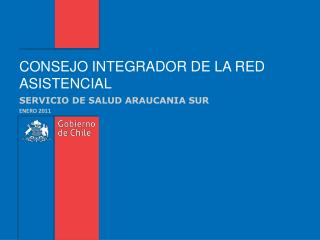 CONSEJO INTEGRADOR DE LA RED ASISTENCIAL