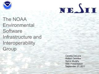 The NOAA Environmental Software Infrastructure and Interoperability Group