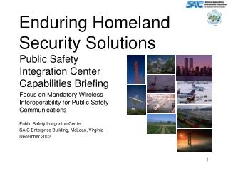 Enduring Homeland Security Solutions