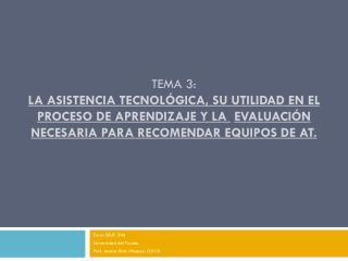 Curso EDUC 546 Universidad del  Turabo Prof. Jessica Díaz Vázquez (2013)