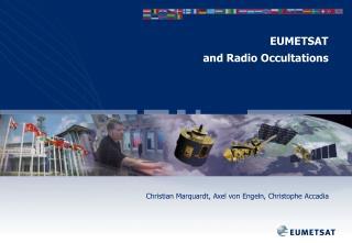 EUMETSAT  and Radio Occultations