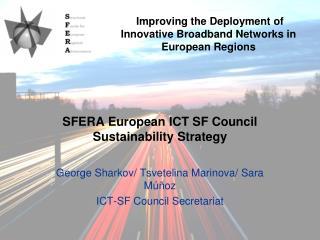 SFERA European ICT SF Council Sustainability Strategy