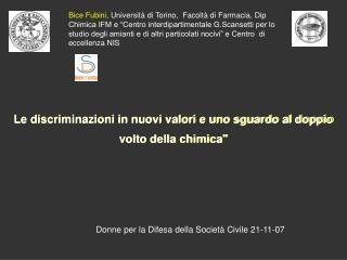Donne per la Difesa della Società Civile 21-11-07
