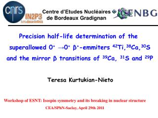 Precision half-life determination of the  superallowed 0 + →0 + β + -emmiters  42 Ti, 38 Ca, 30 S