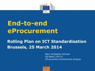 End-to-end eProcurement